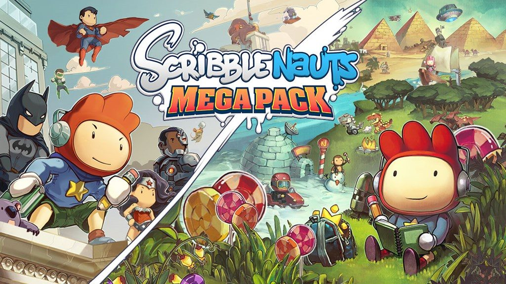 Warner Brothers announces Scribblenauts Mega Pack for PS4, Xbox One