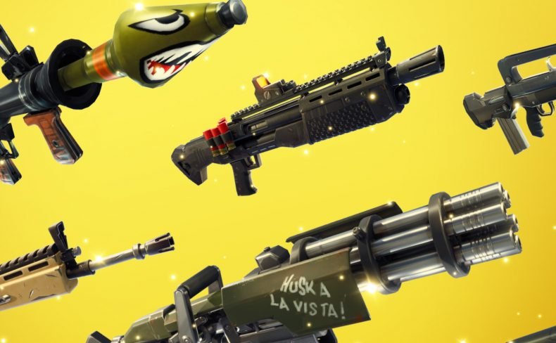 Fortnite 4 2 Is Now Available With New Burst Assault