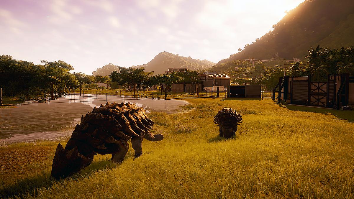 Jurassic World Evolution Ankylosaur
