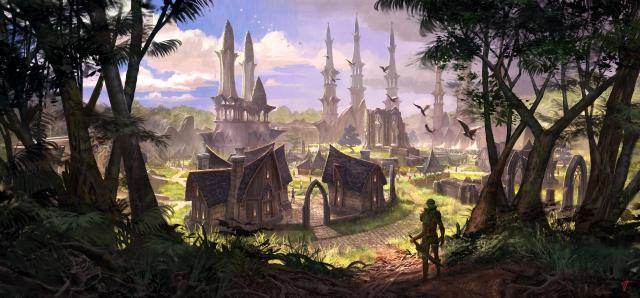 1328Altmer Town Concept