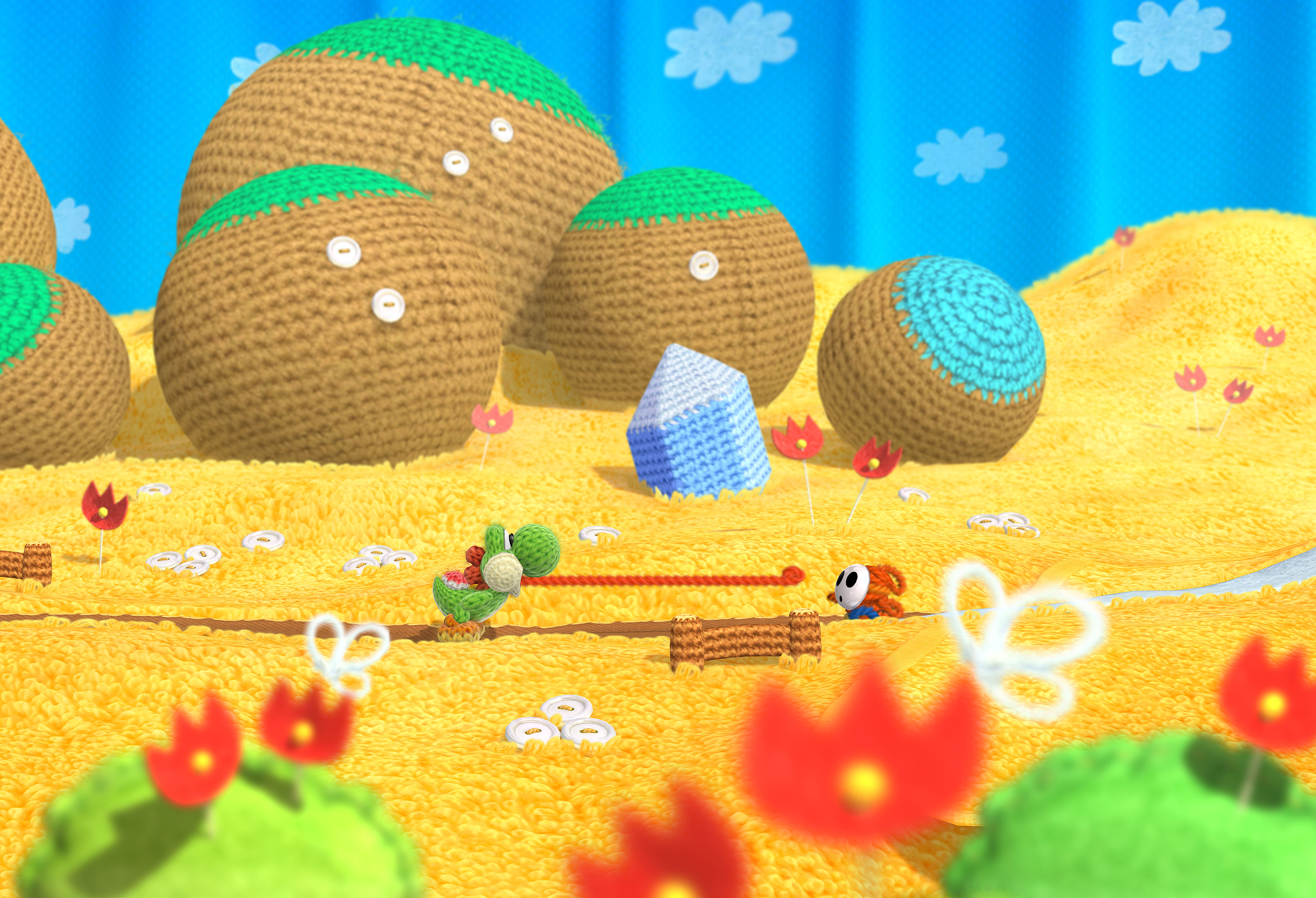 Poochy amp Yoshis Woolly World for Nintendo 3DS  Nintendo