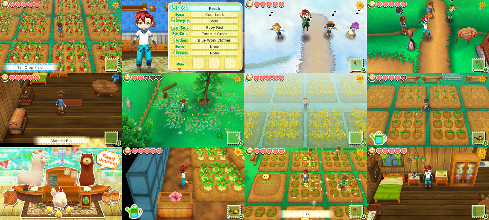 New story of seasons trailer amp screens released