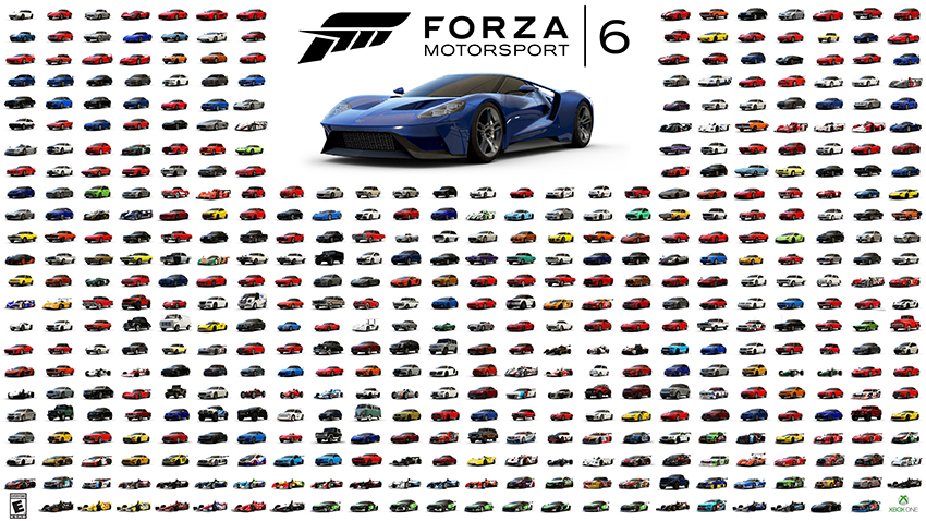 List Of Cars >> Forza Motorsport 6 Demo Coming Plus List Of All 460 Cars