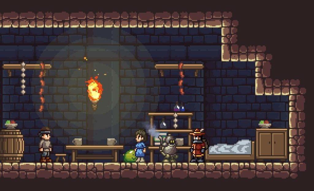 A screenshot of Monster Sanctuary