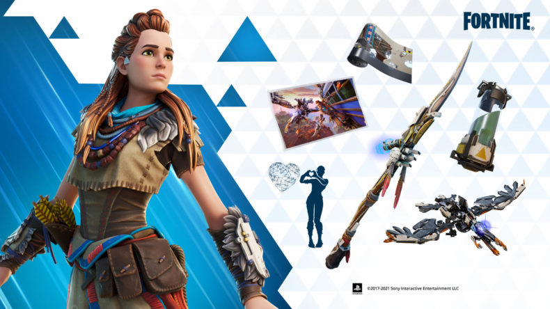 Aloy comes to Fortnite