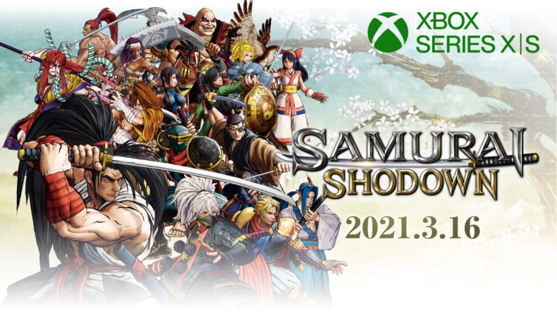 SAMURAI SHODOWN comes to Series X/S in March