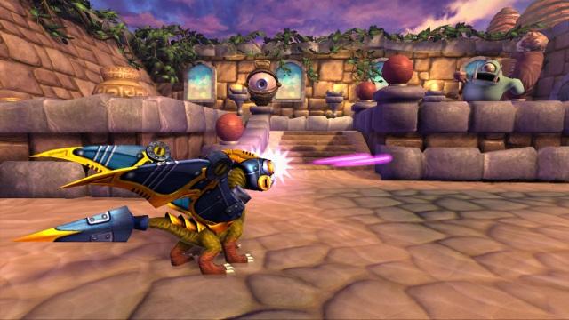 Skylanders-Spyro'sAdventure-Drobot-in-action