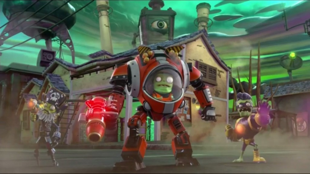 Plants Vs Zombies Garden Warfare 2 Gameplay Trailer Single Player Announced