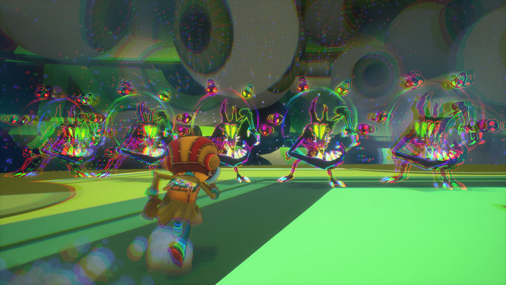 A screenshot of Psychonauts 2