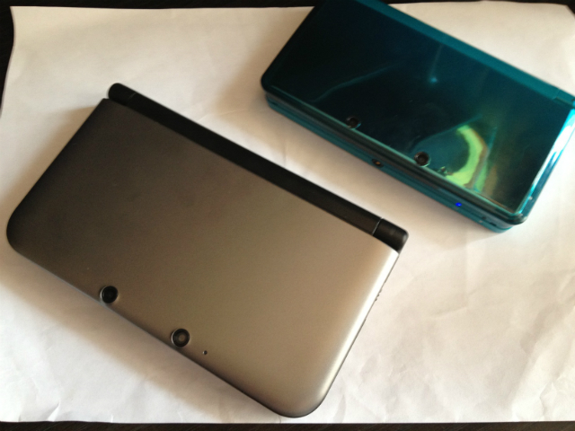 3DS XL To 3DS Comparison - Closed