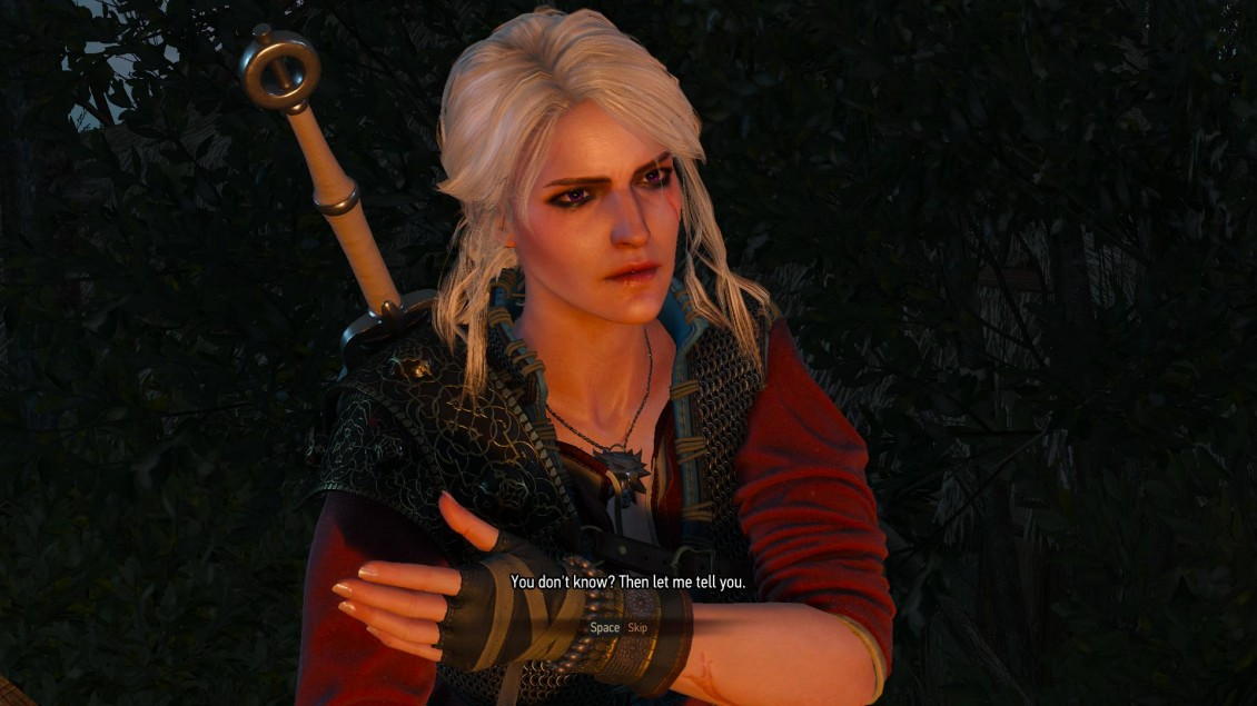 The Witcher 3 Lesbian