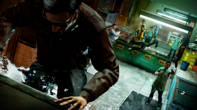 Sleeping Dogs - Escape