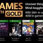 Xbox Live Games with Gold for October 2017 announced