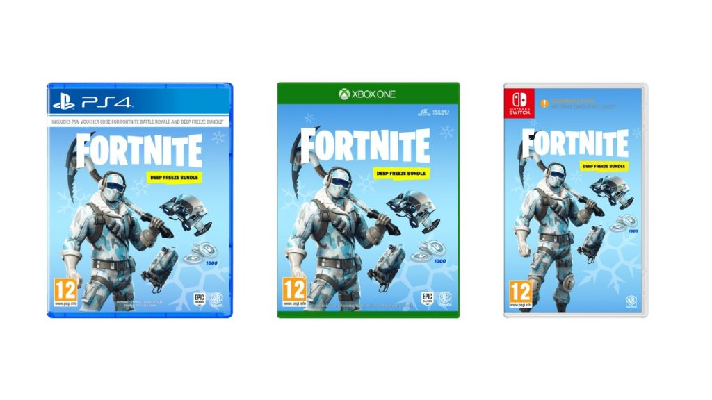 The Fortnite Deep Freeze Bundle From Wb Next Month Is A Code In Box
