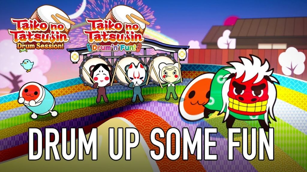 Taiko no Tatsujin: Drum Session! For PS4 and Taiko no