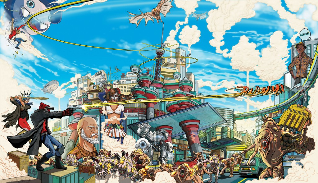 April Games with Gold lineup to include Sunset Overdrive for free