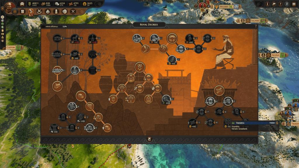 total war saga troy resources in Royal Decrees