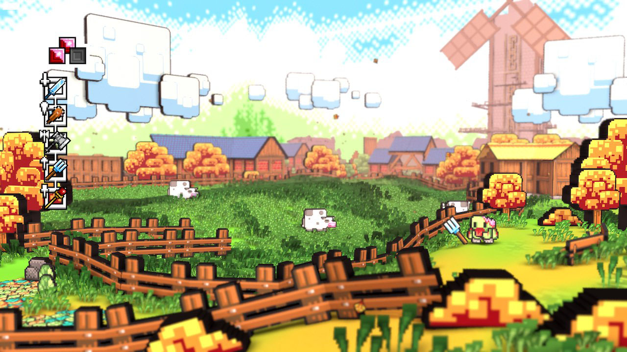 A screenshot from Skellboy for Nintendo Switch