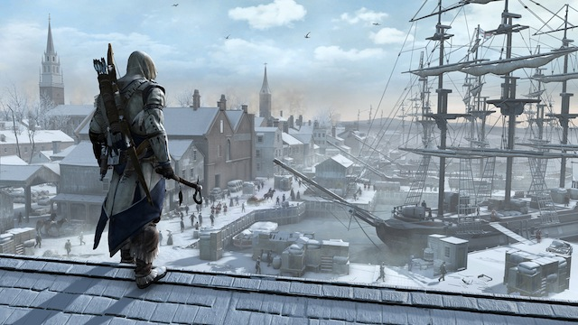 Assassin's Creed III - Boston Port Vista
