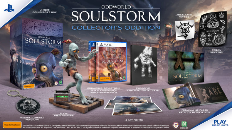 The Collector's Oddition of Oddworld: Soulstorm can be pre-ordered now