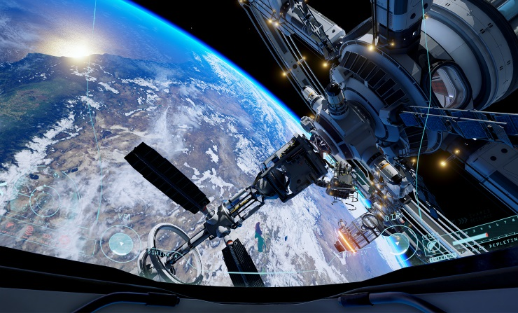 ADR1FT Hands-on Preview: Floating among the stars