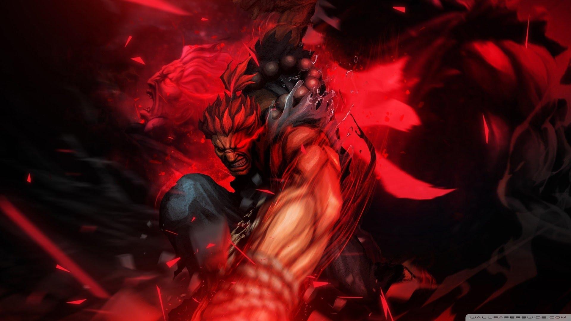 Akuma Revealed For Street Fighter V Godisageek Com
