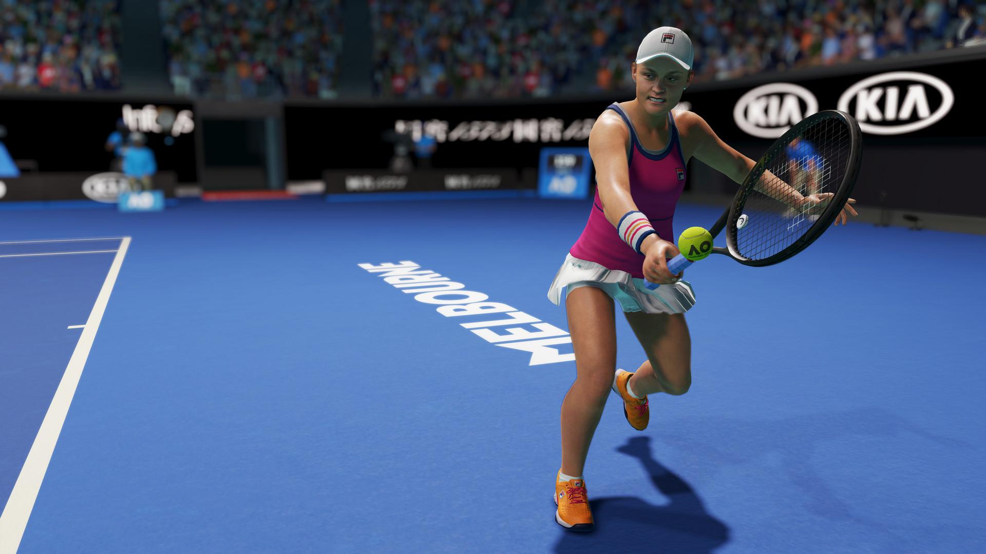 AO Tennis 2 screen