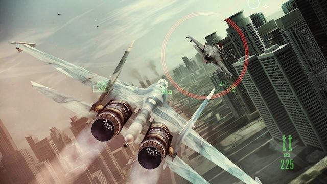 Ace Combat: Assault Horizon - City Chase