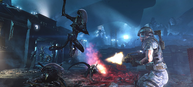 ALIENS: COLONIAL MARINES DLC LAUNCHES TODAY