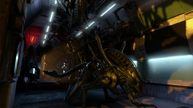 Aliens: Colonial Marines - Sneaky Alien