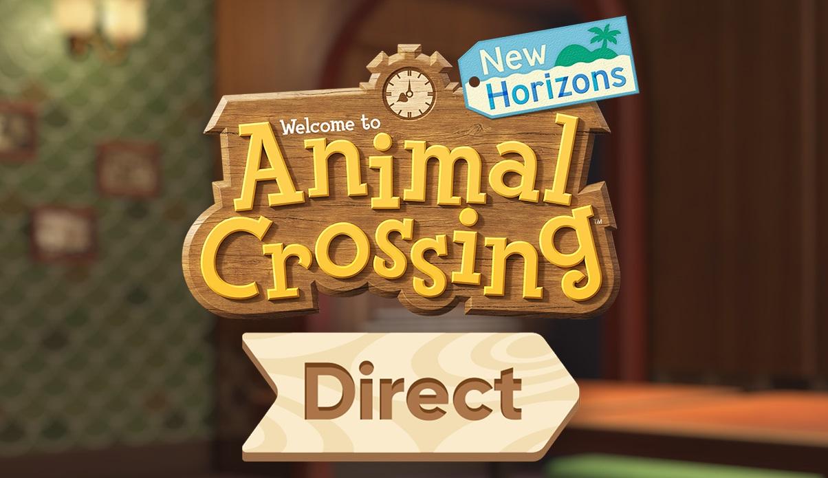 Animal Crossing New Horizons Nintendo Direct News