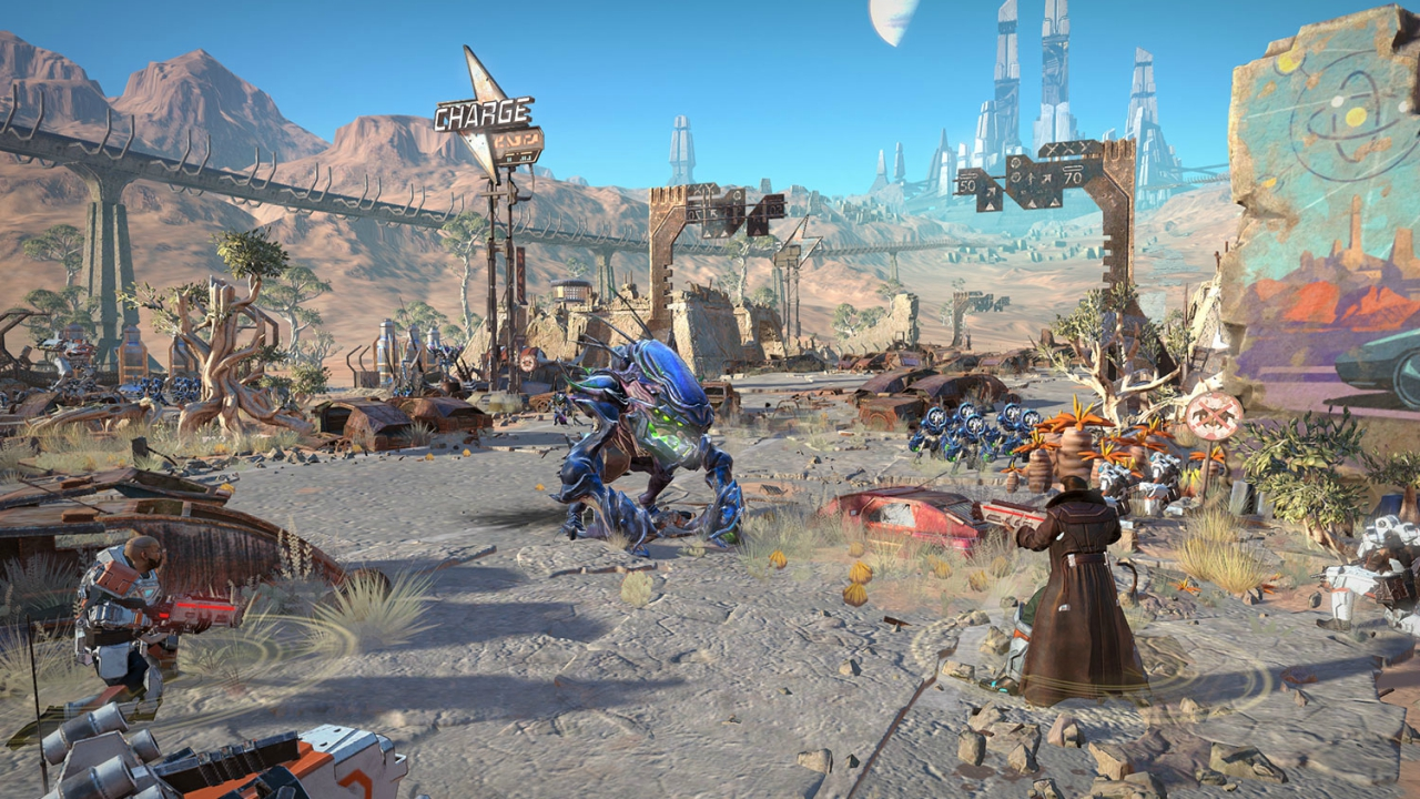Age of Wonders: Planetfall review in-game battle