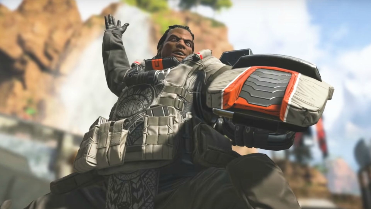 work on Apex Legends The fall of the Titans