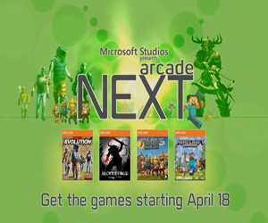 Arcade NEXT Begins on 18th April & All New XBLA Titles Will Have 400 Gamerscore