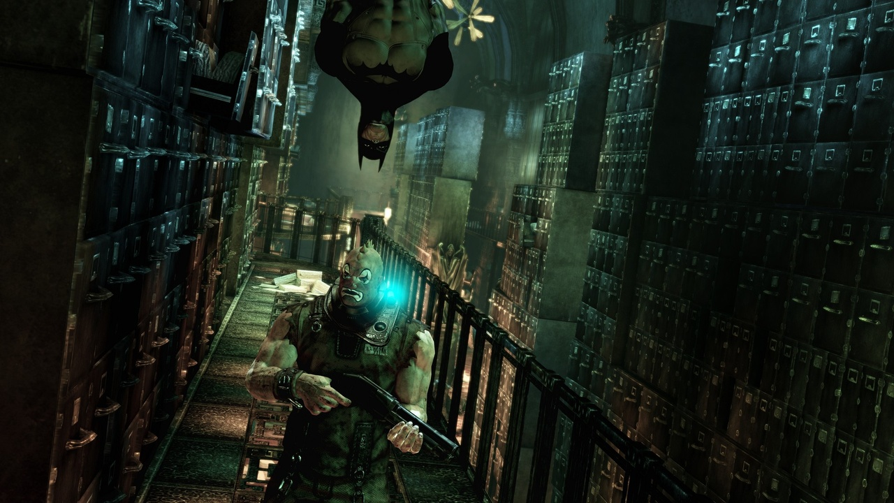 Arkham Asylum stealth screenshot