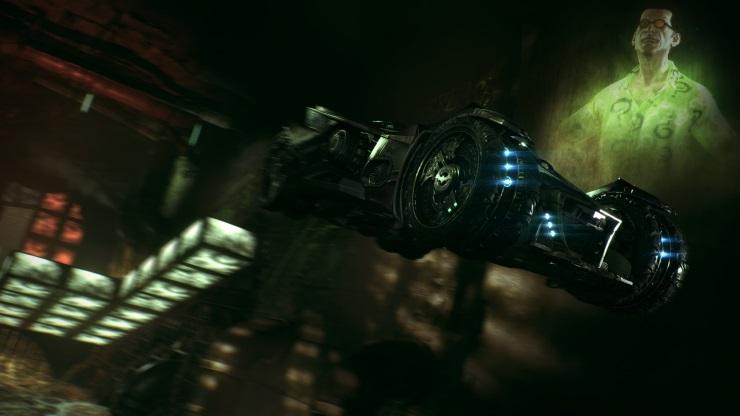Arkham Knight Riddler Batmobile