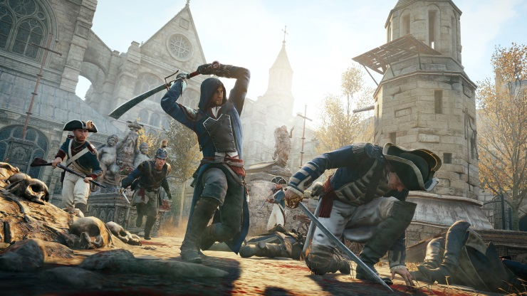 Assassin's Creed Unity Combat