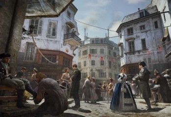 Assassin's Creed Unity Environment