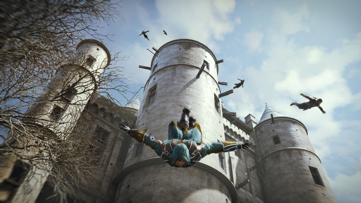 Assassin's Creed Unity Leap of Faith