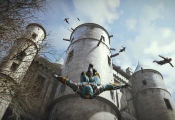 Assassin's Creed Unity Leap of Faith