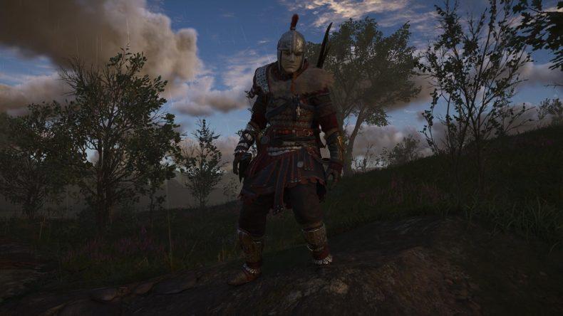 Assassins Creed Valhalla Wrath of the Druids Byzantine Greek Armor Set