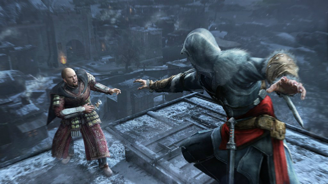 Assassins Creed: Revelations - Ezio Assassination Of Leandros