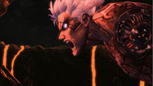 Asura's Wrath - Shouting