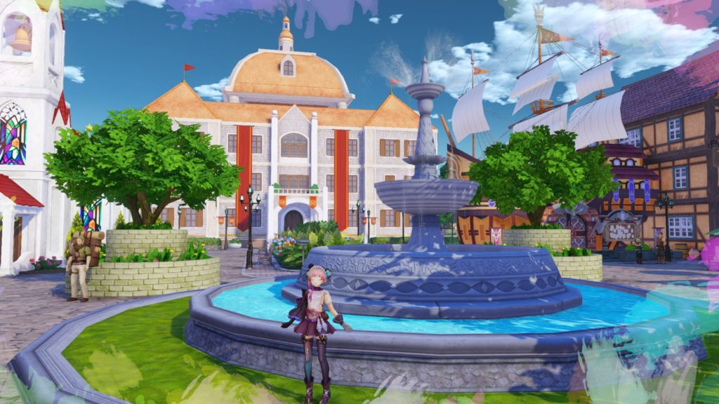A screenshot of Atelier Mysterious Trilogy