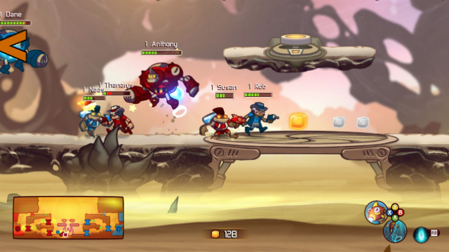 Awesomenauts - Screenshot