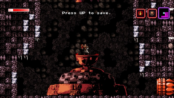 Axiom Verge save room
