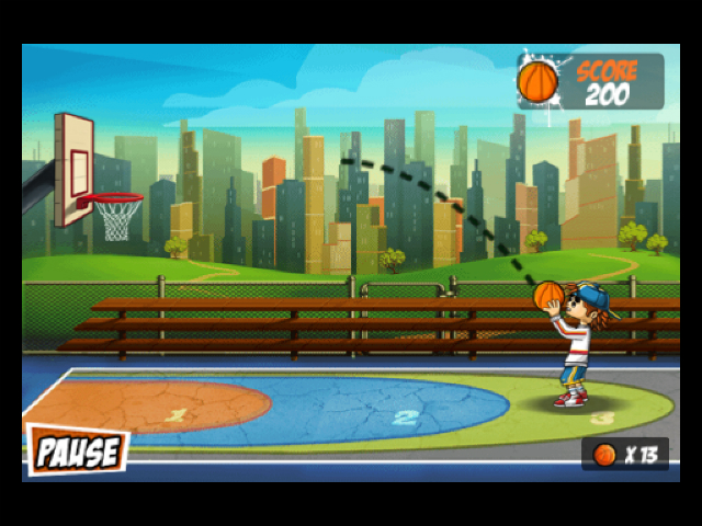 Basketball: Hoops of Glory - Screenshot