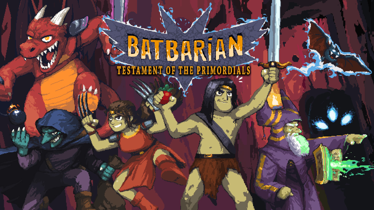 Batbarian key art