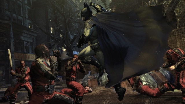 Batman: Arkham City - Batman Punch
