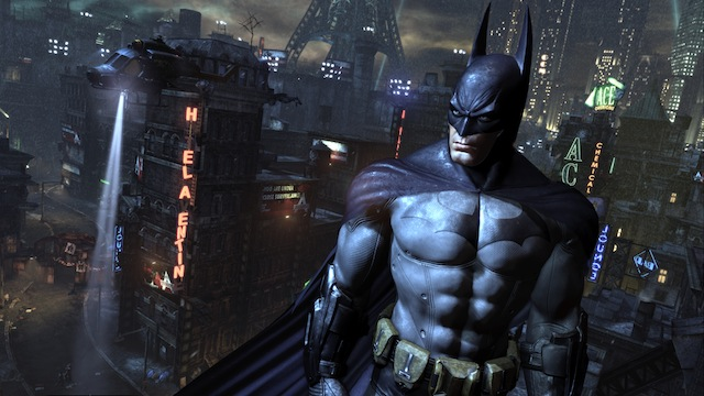 Batman: Arkham City - Batman Stare